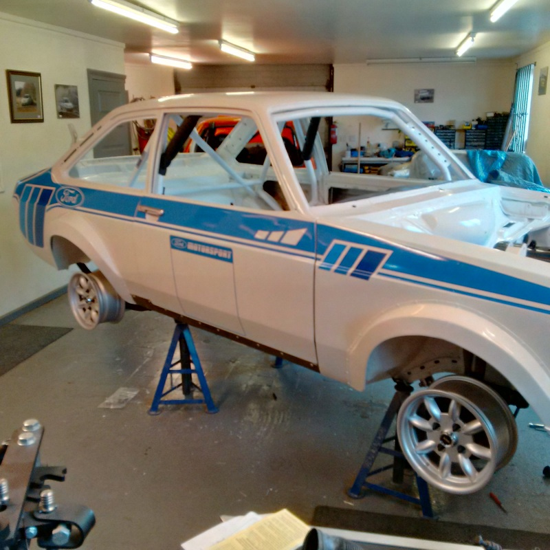 MK2 ford escort rally car for sale with pinto engine £25,000